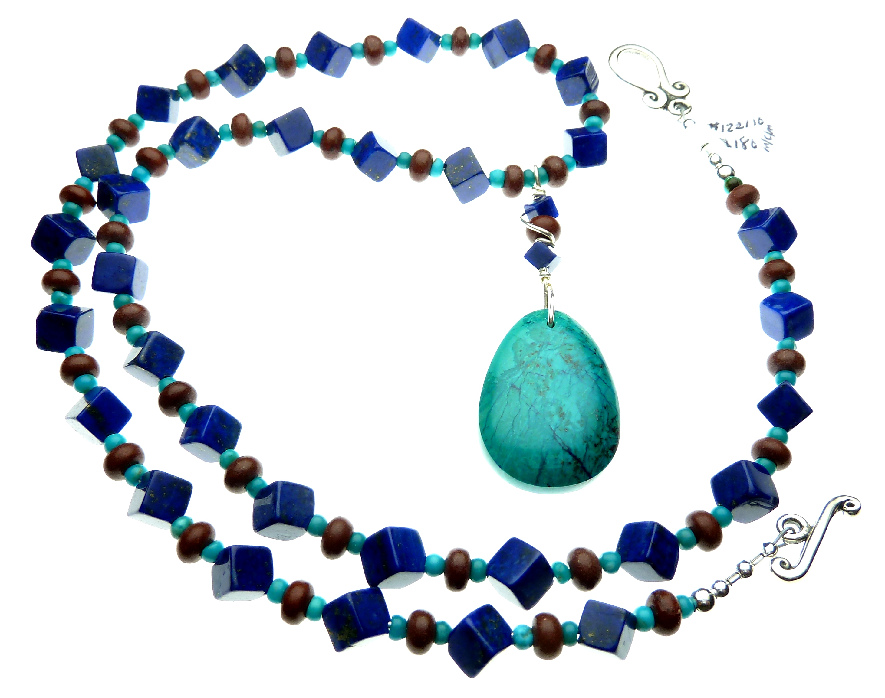 Chrysocolla Lapis Turquoise and Pipestone